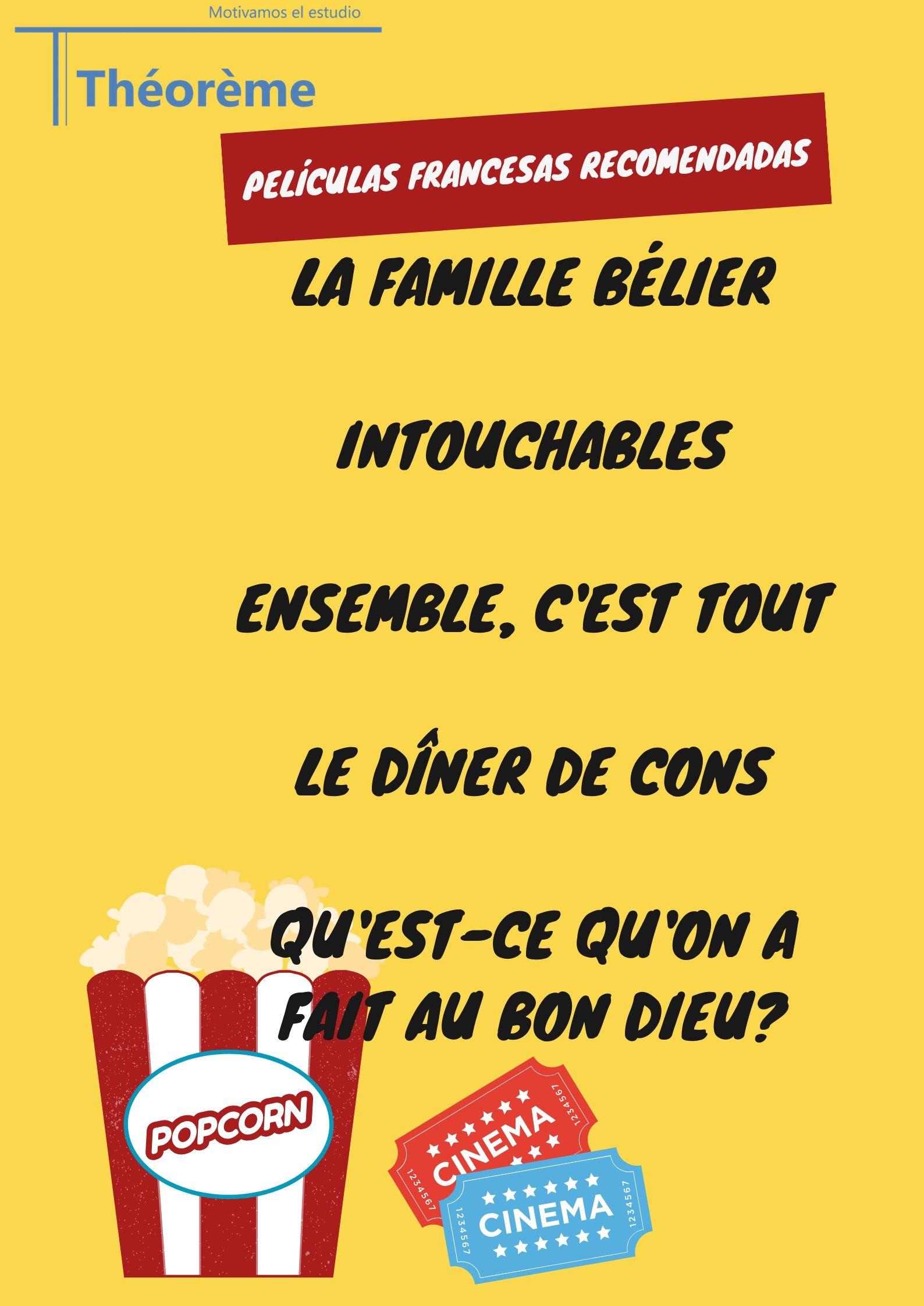 Películas francesas recomendadas